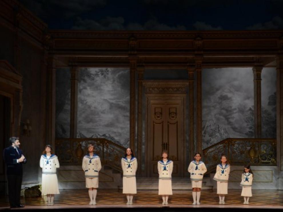 Una de las escenas del musical