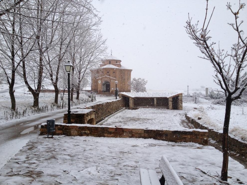 La ermita de San Roque en Loscos (Teruel)