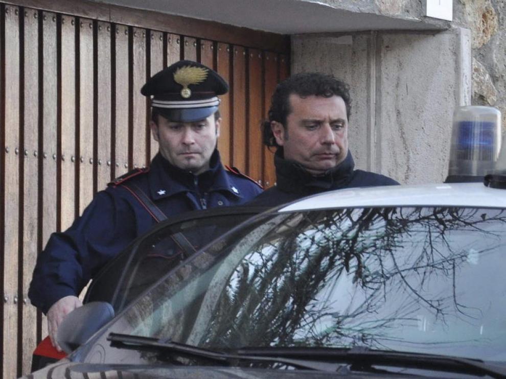 El capitán del crucero 'Costa Concordia', Francesco Schettino
