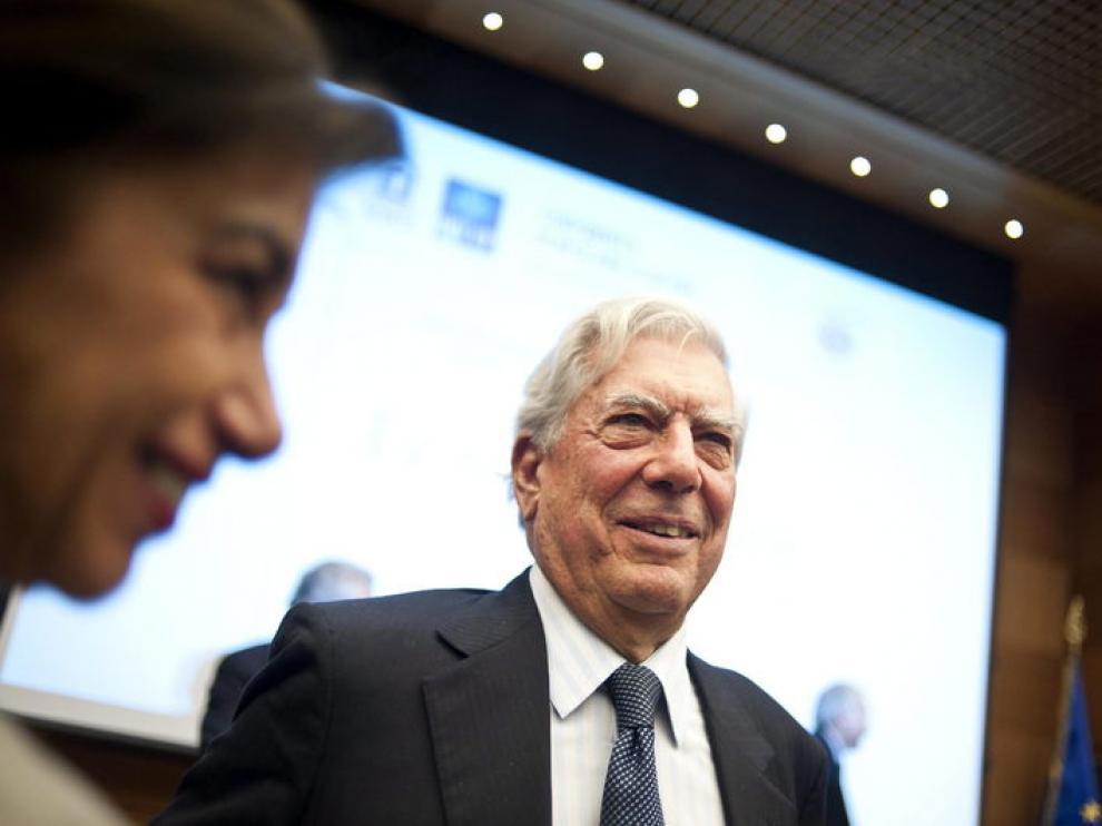 Mario Vargas Llosa, este martes