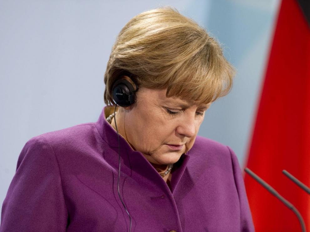 Merkel recibe a Lagarde
