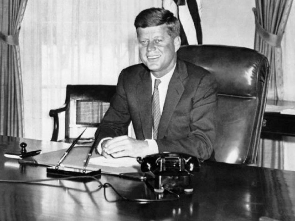 John F. Kennedy en una imagen de archivo