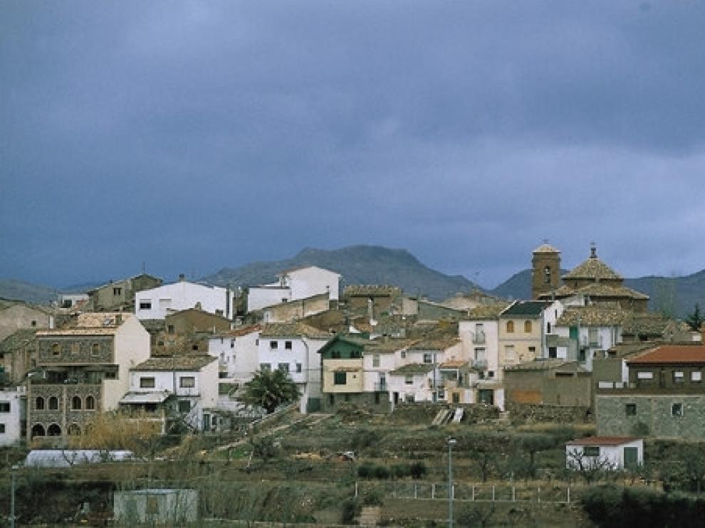 Vista del pueblo de Gotor.