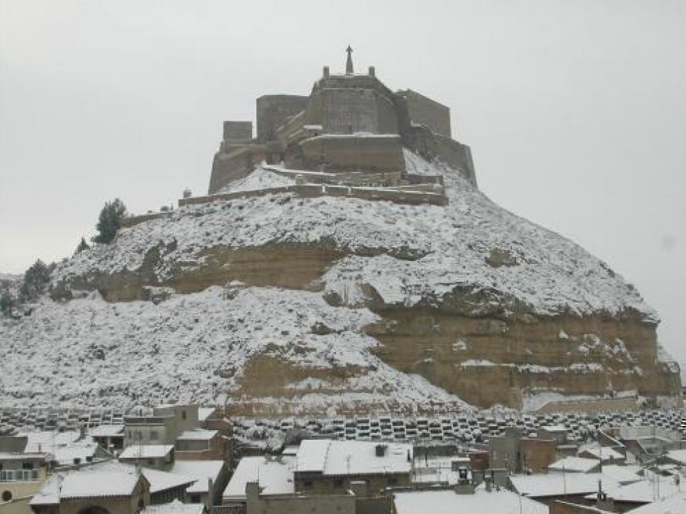 Nieve en Monzón