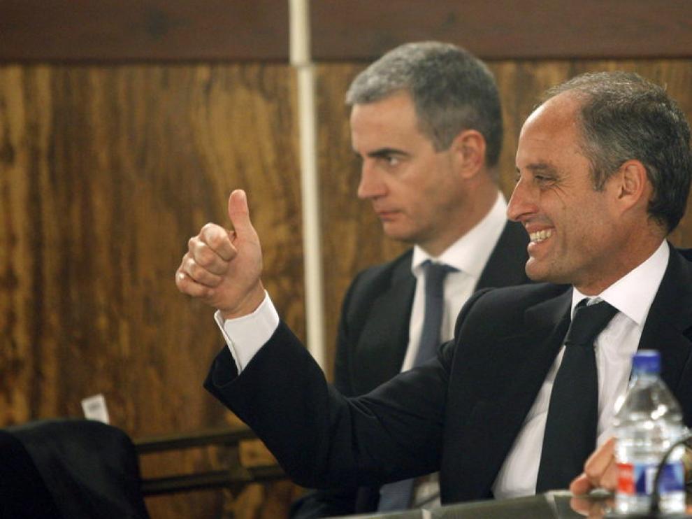 Reacción de Francisco Camps al veredicto