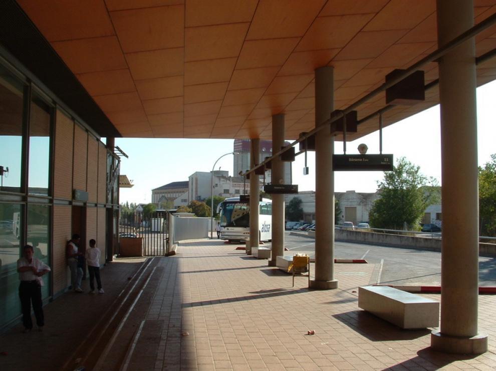 Imagen de la Estación Intermodal de Huesca