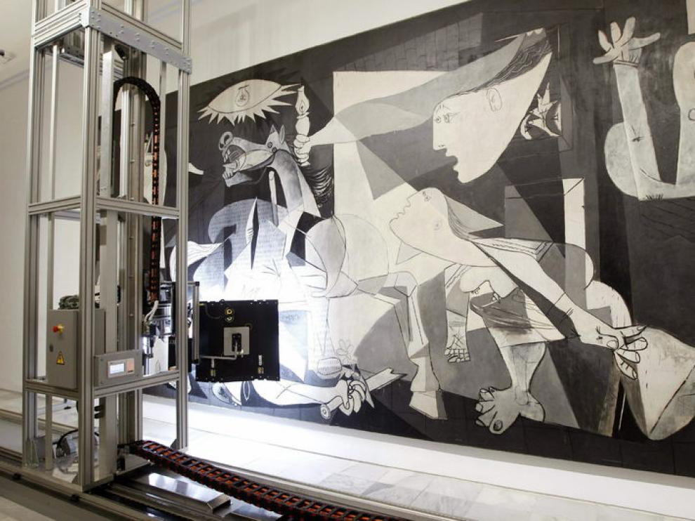 Un robot aportará nuevos datos del Guernica