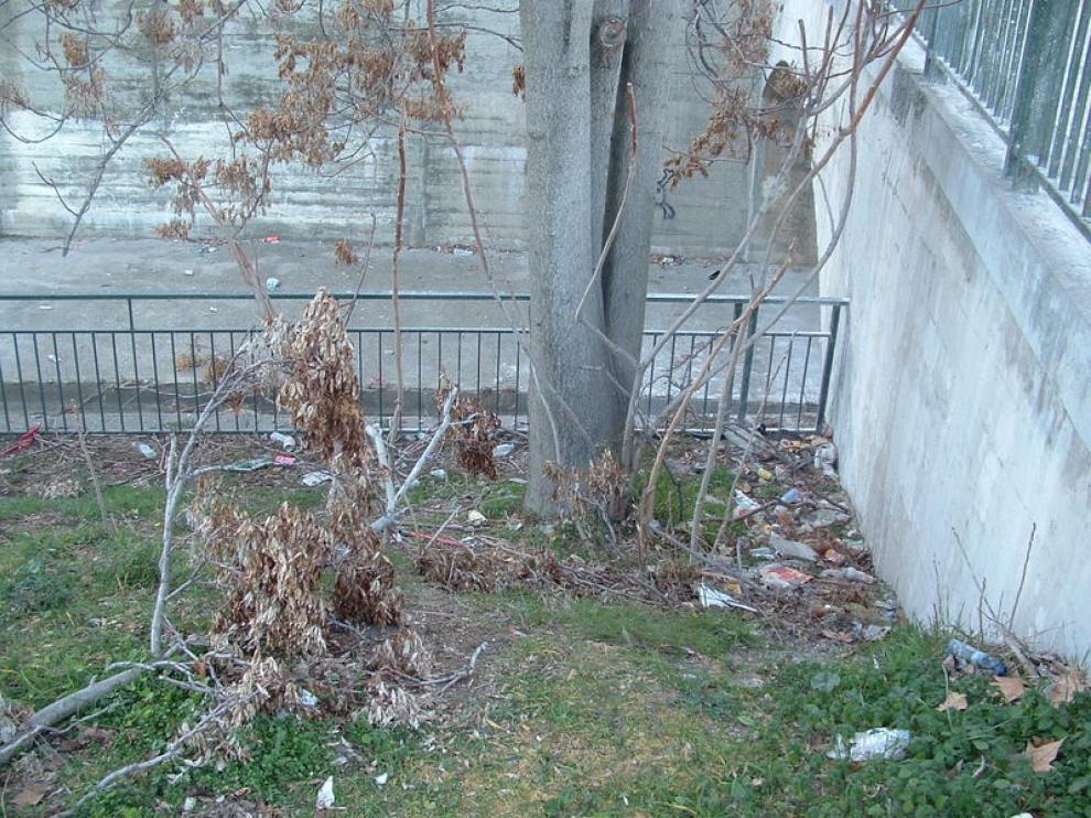Zona entre Fosal de Moros y la avenida de los Danzantes