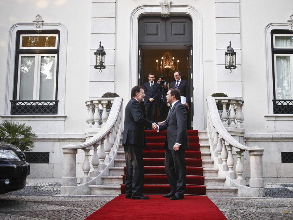 Visita a Lisboa de Mariano Rajoy