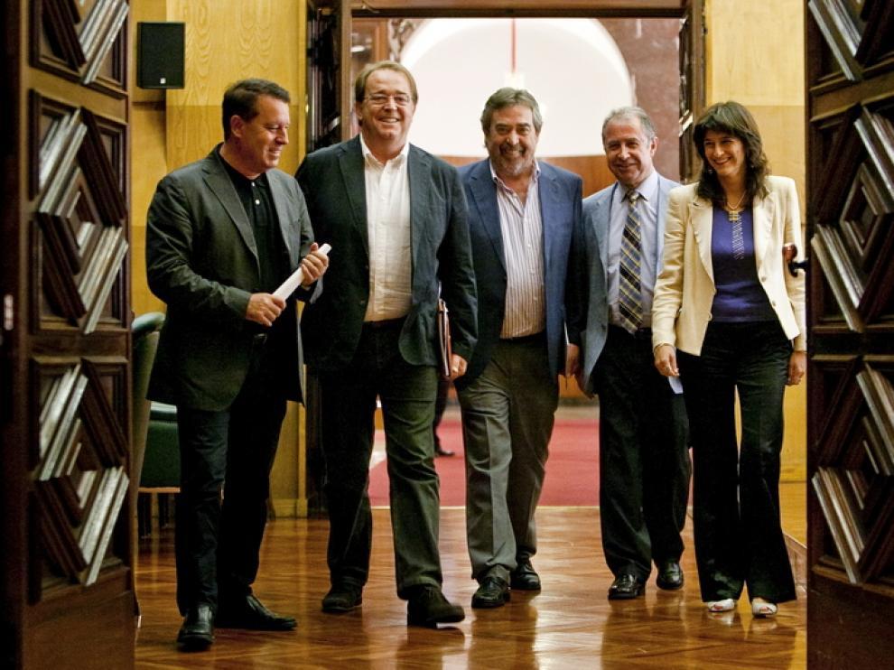 El equipo de Gobierno de Zaragoza