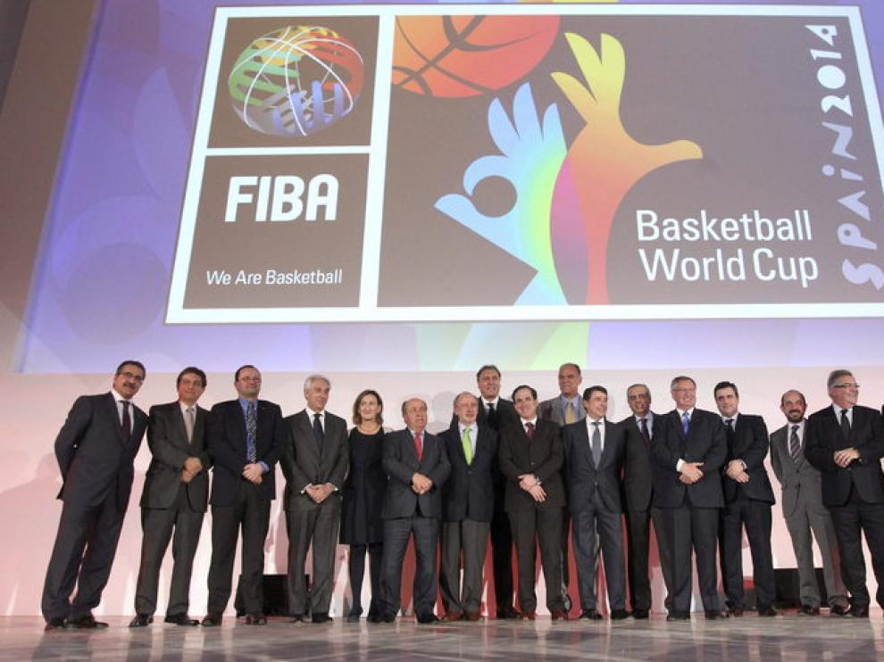 Presentación del mundial de Baloncesto