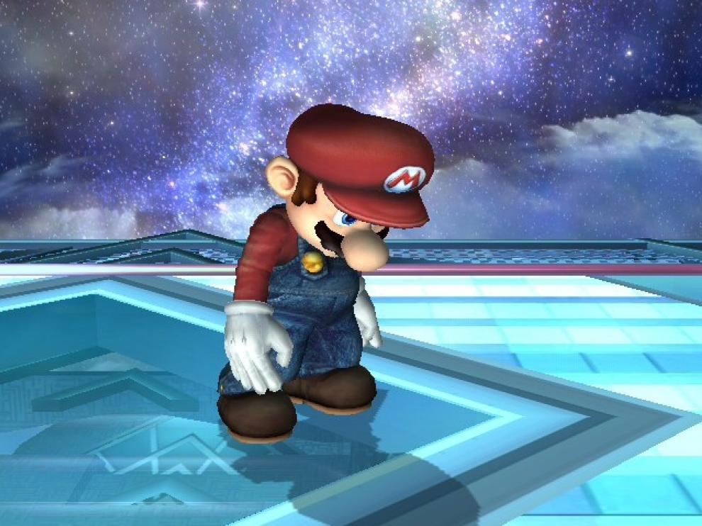 La estrella de Nintendo Super Mario
