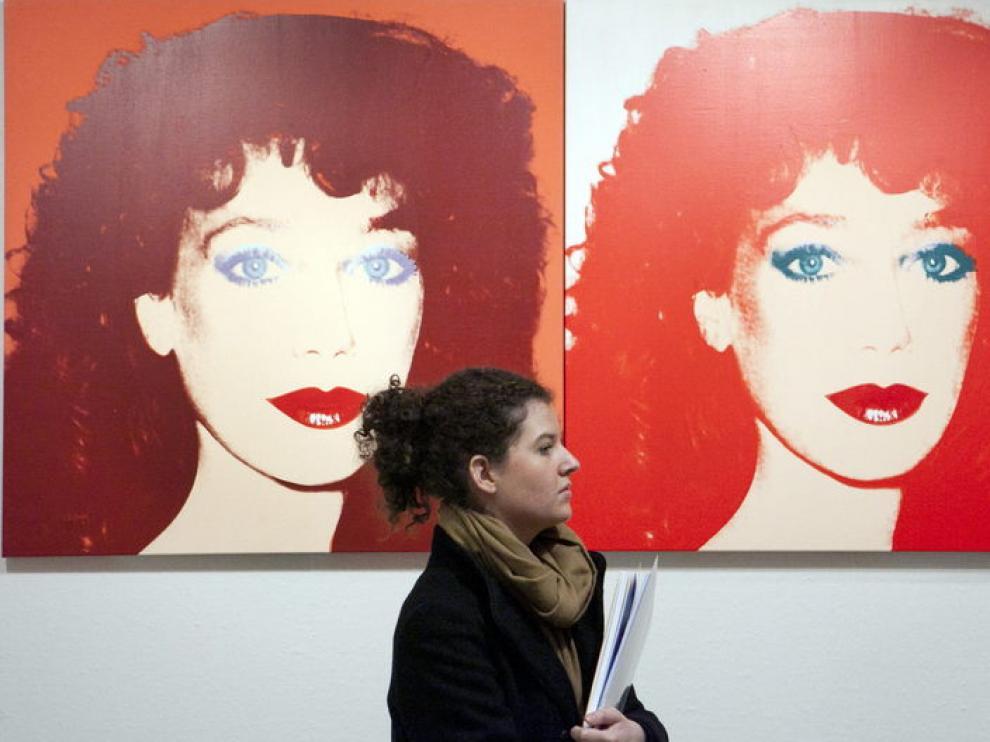 Exposición de Warhol en Zaragoza