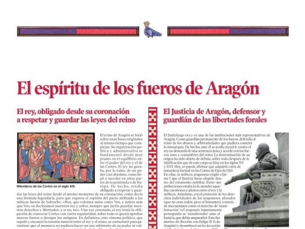 Los Fueros de Aragón, con HERALDO