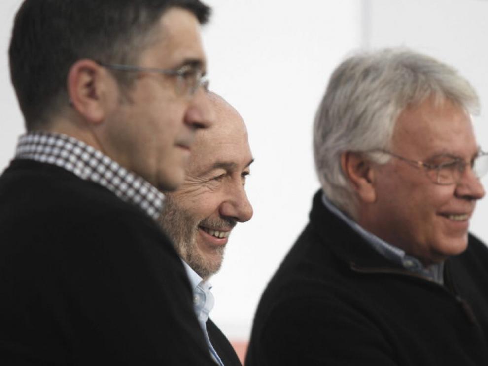 López, Rubalcaba y González