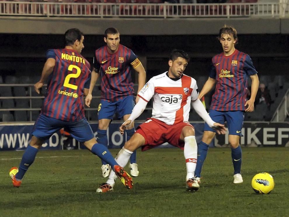 El Huesca acabó perdiendo 4-2