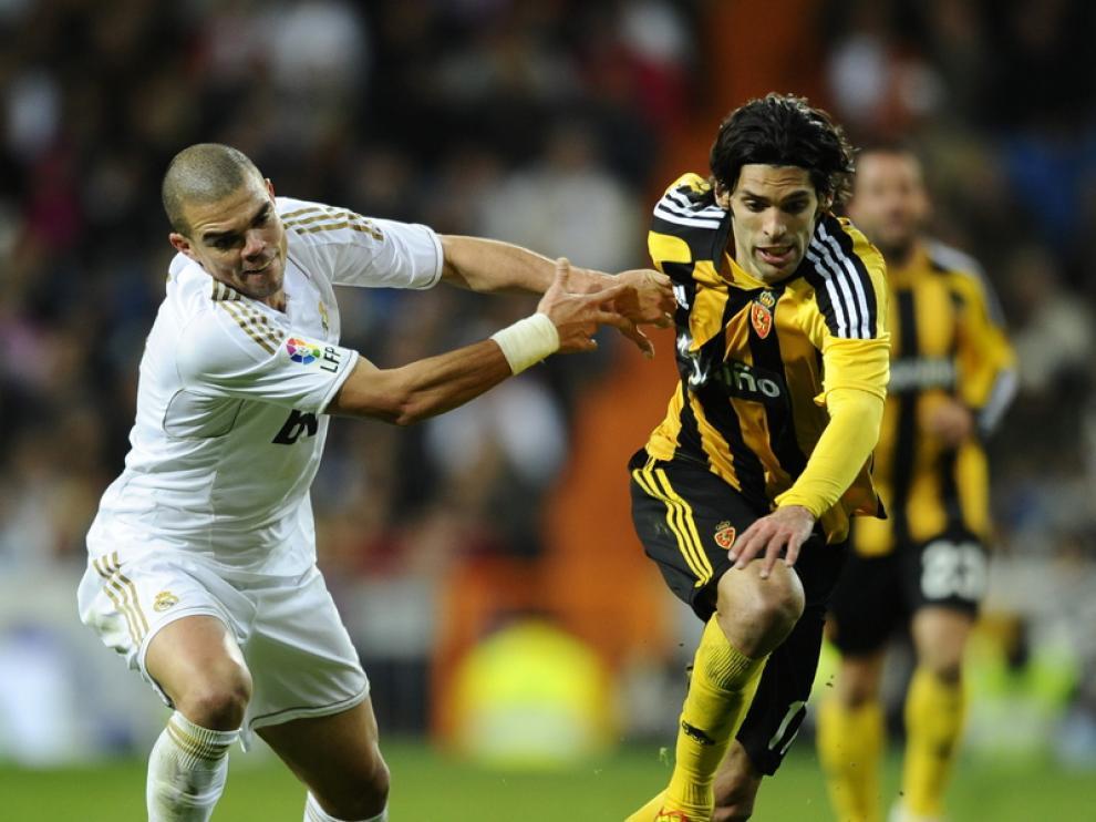 Partido contra el Real Madrid en el Bernabeu
