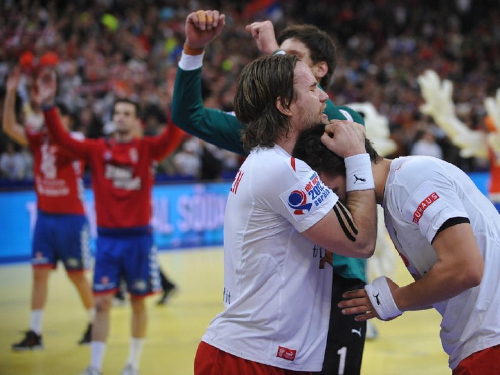 Dinamarca celebra el título