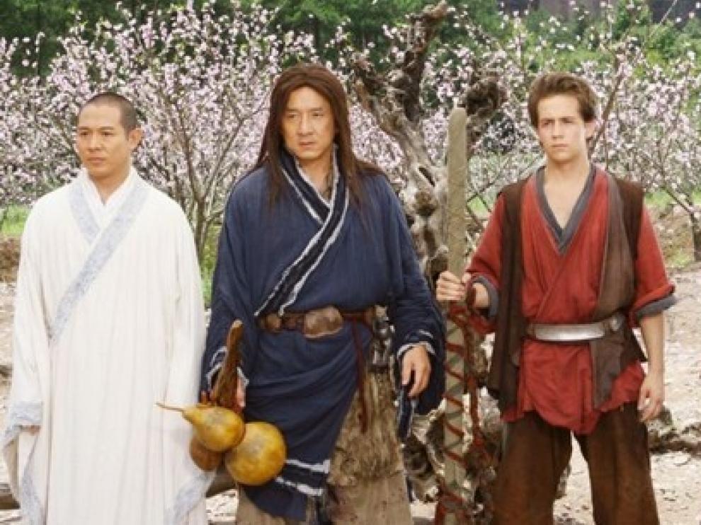 El Reino Prohibido, con Jet Li y Jackie Chan