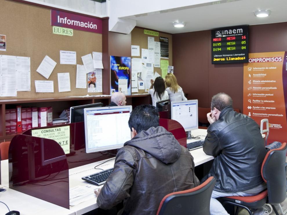 Oficina de Inaem en Zaragoza
