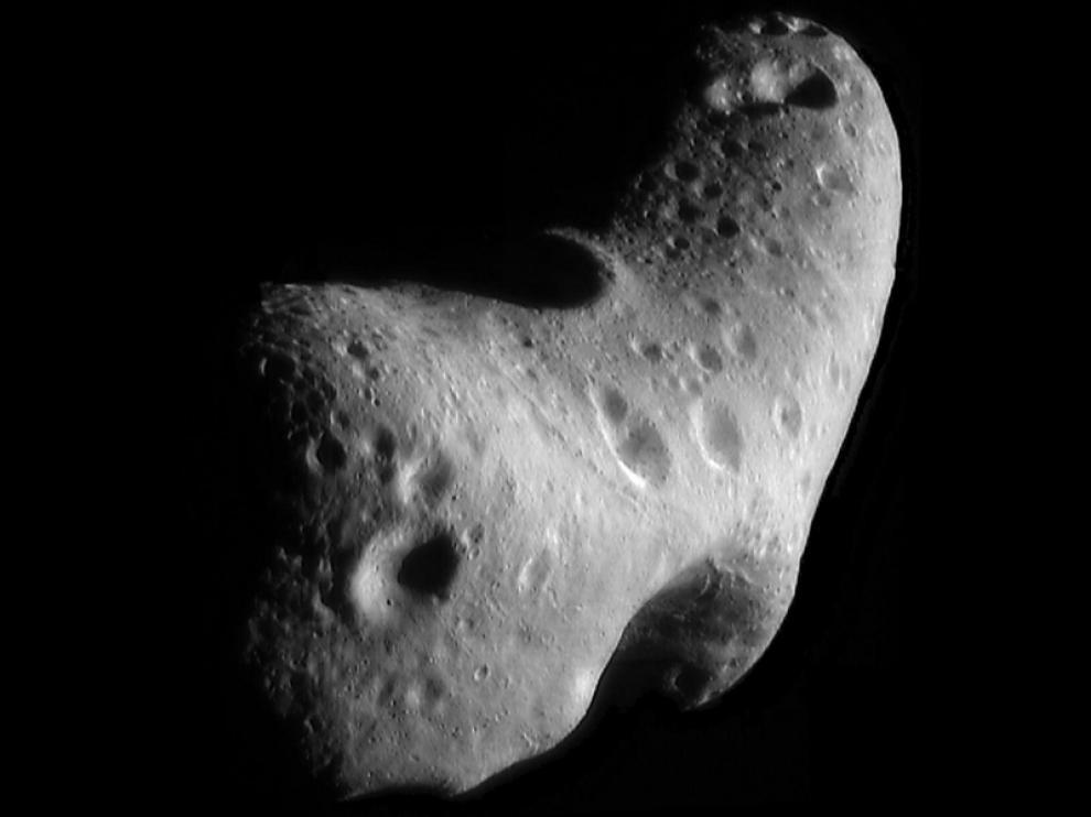 Imagen de la NASA de Eros