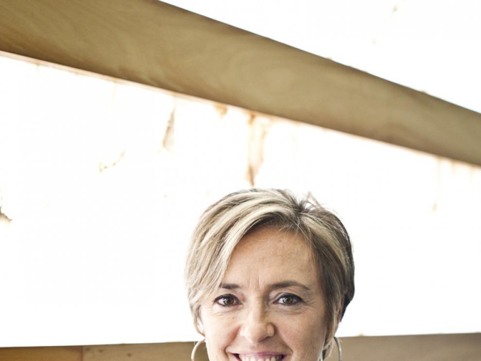 Nieves Ibeas, portavoz parlamentaria de CHA