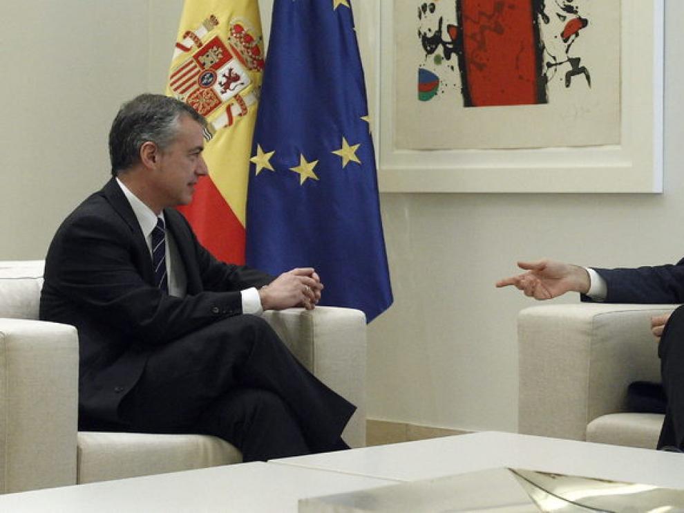 Urkullu se ha reunido con Rajoy