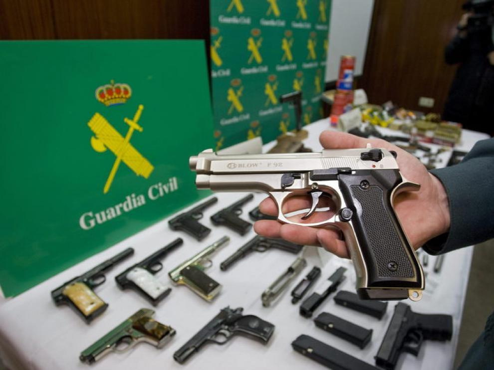 La Guardia Civil se encarga del control de armas