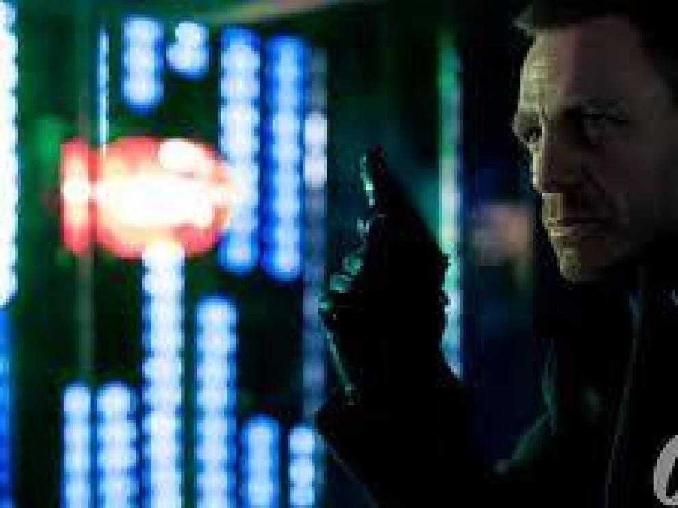 Daniel Craig, como James Bond en 'Skyfall'