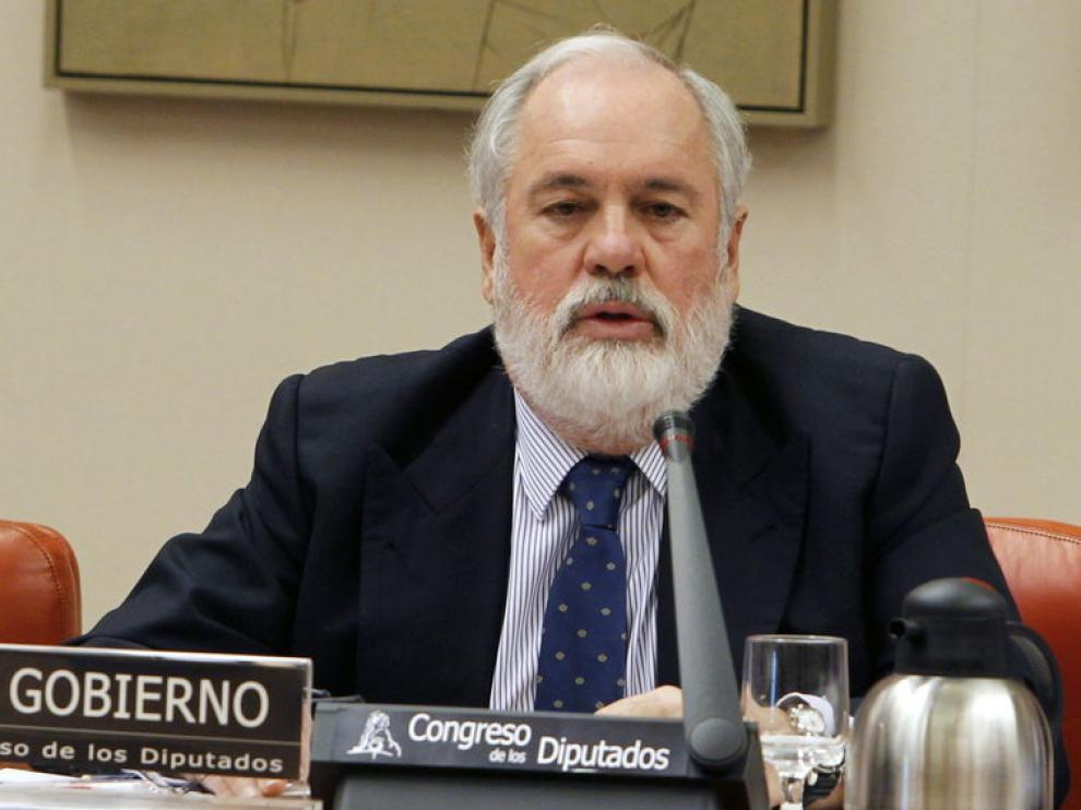 El ministro Arias Cañete, en el Congreso