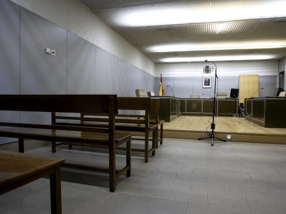 Imagen de los juzgados de Zaragoza