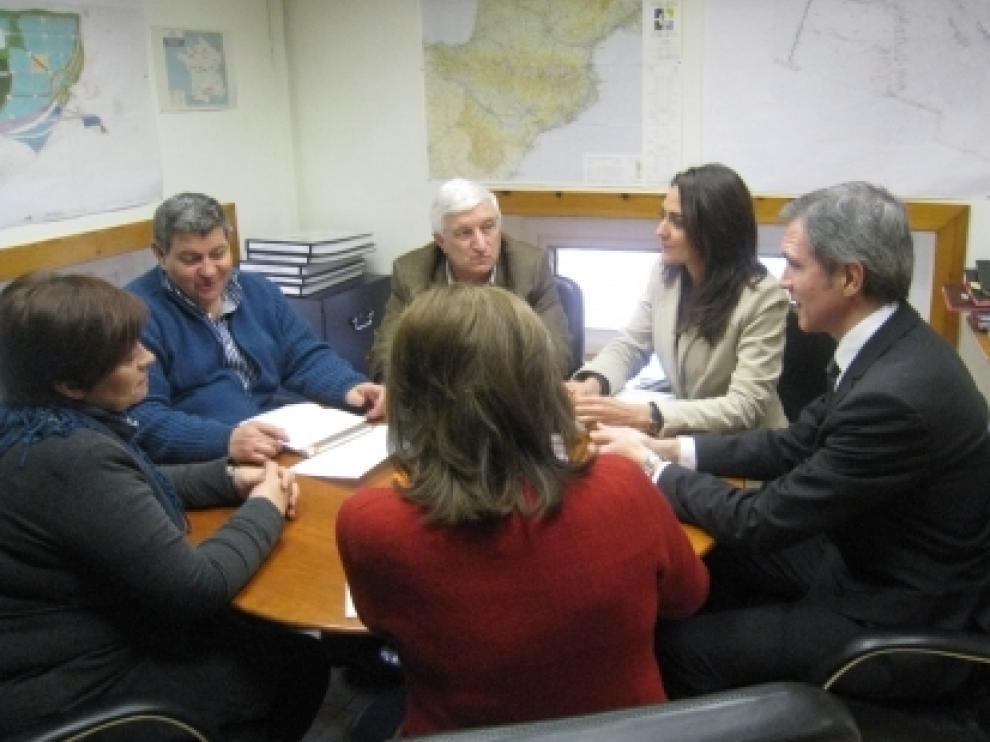 Reunión sobre el transporte rural
