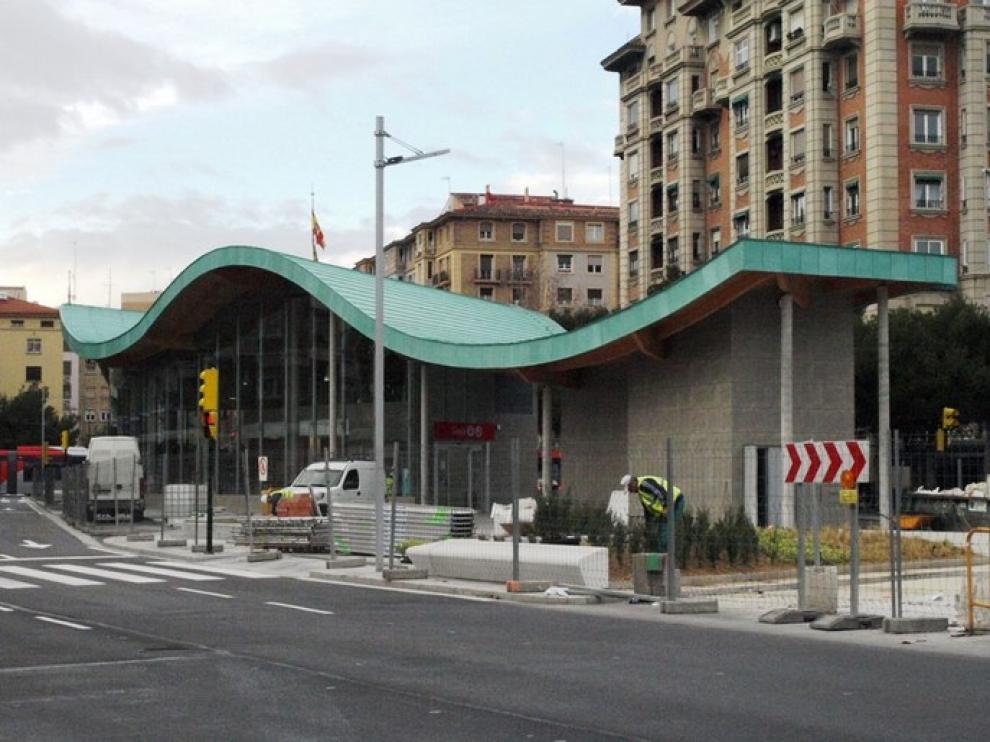 Estación de Goya, a menos de un mes de su inauguración