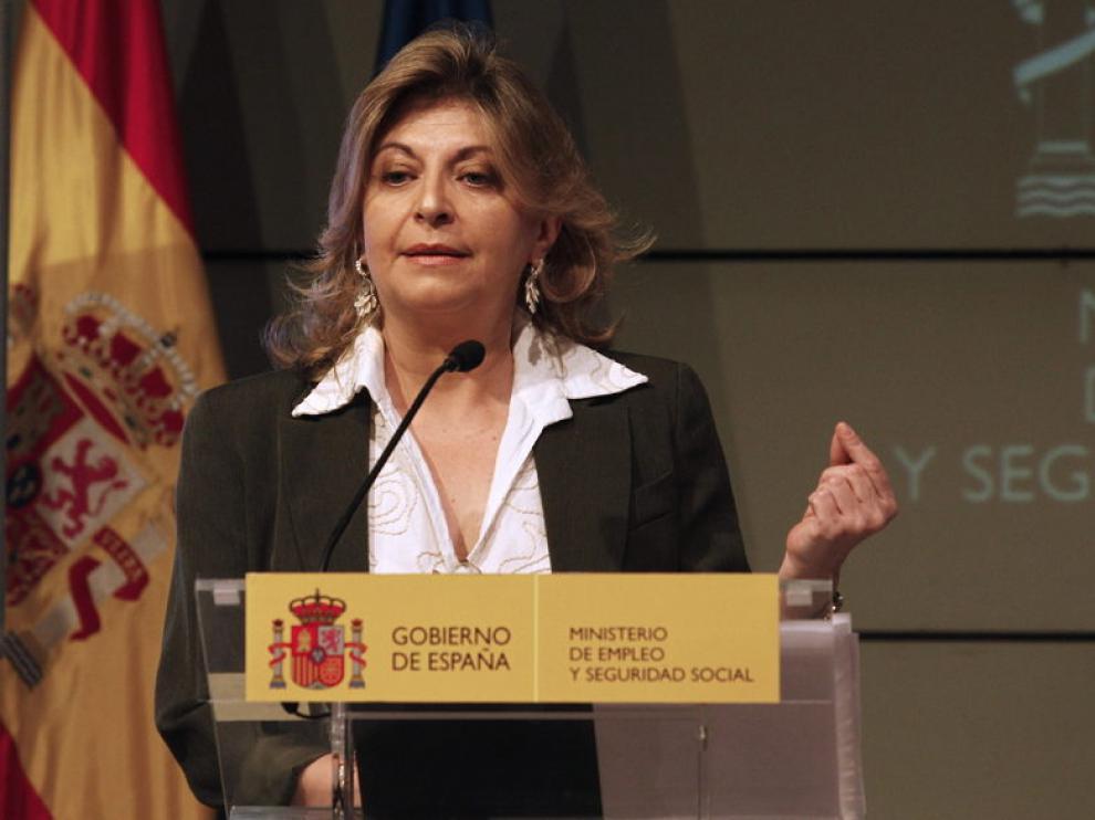 La secretaria de Estado de Empleo y Seguridad Social, Engracia Hidalgo