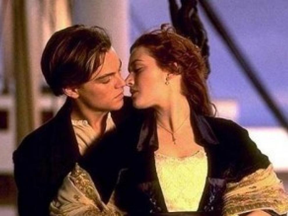 Imagen de la película 'Titanic'