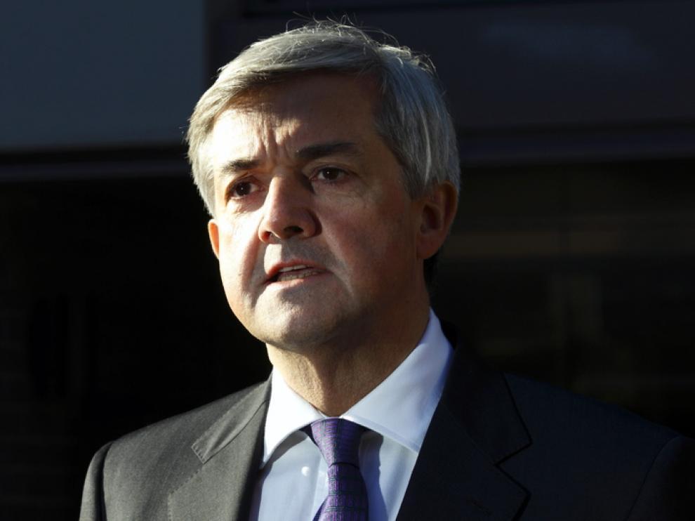 El hasta ahora ministro británico de Energía, Chris Huhne