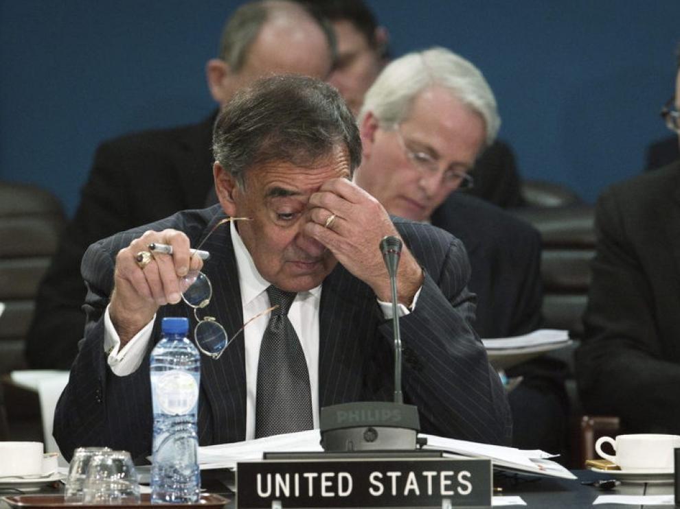 El secretario de Defensa de EE.UU., Leon Panetta