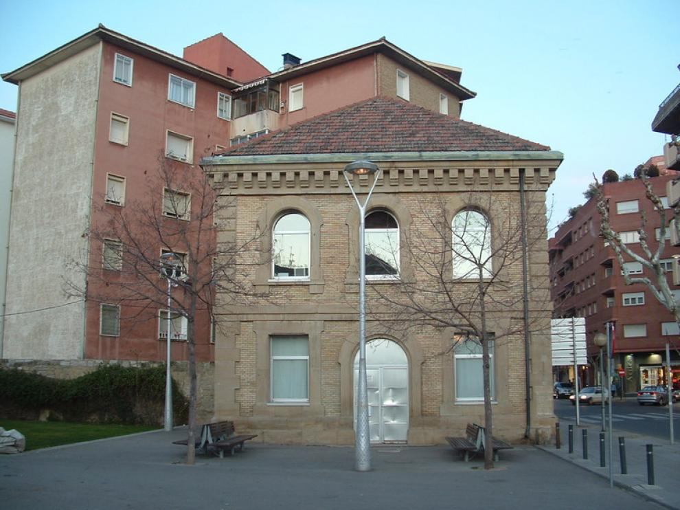 La sede de la Asociación de Vecinos, en el Centro Cultural del Matadero.