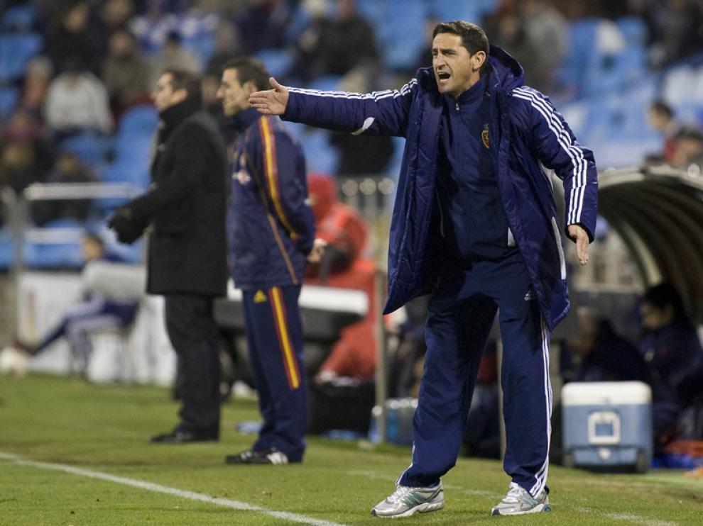Imágenes del encuentro del Real Zaragoza y el Rayo Vallecano en La Romareda