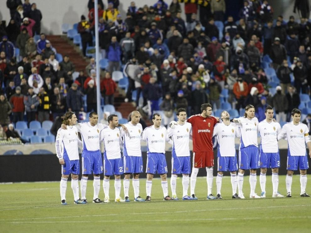 Imágenes del encuentro del Real Zaragoza y el Rayo Vallecano