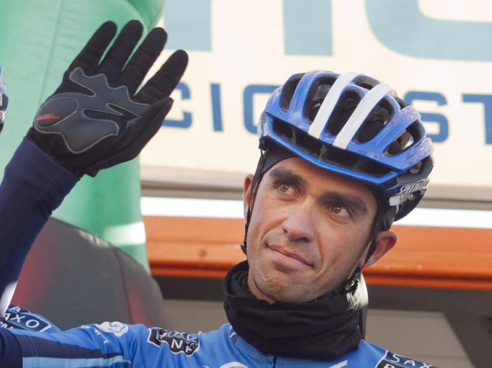 El ciclista madrileño Alberto Contador