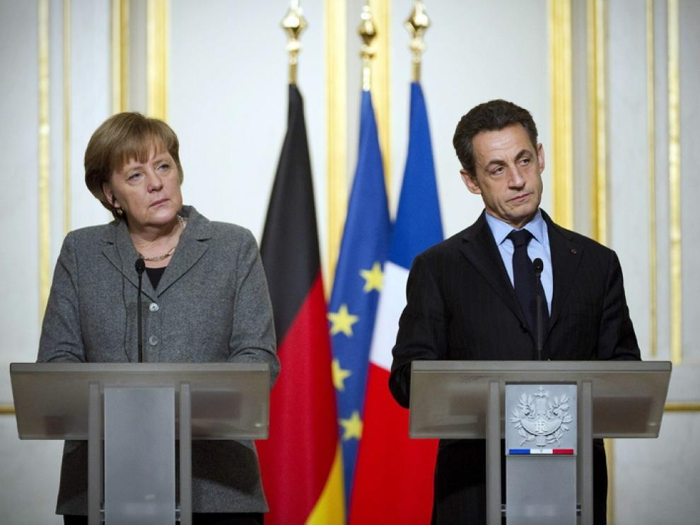 Los líderes de Francia y Alemania