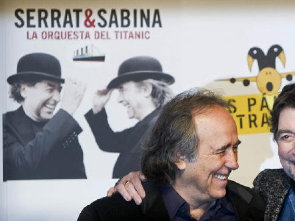 Joan Manuel Serrat y Joaquín Sabina