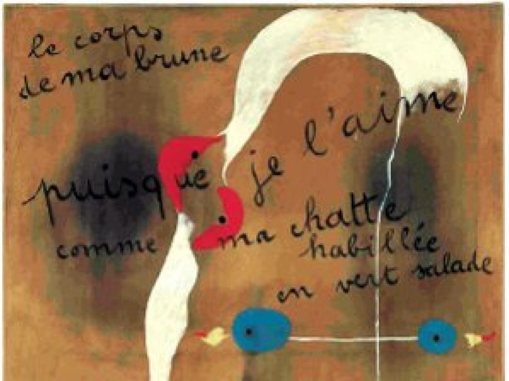 'Painting-Poem' de Miró