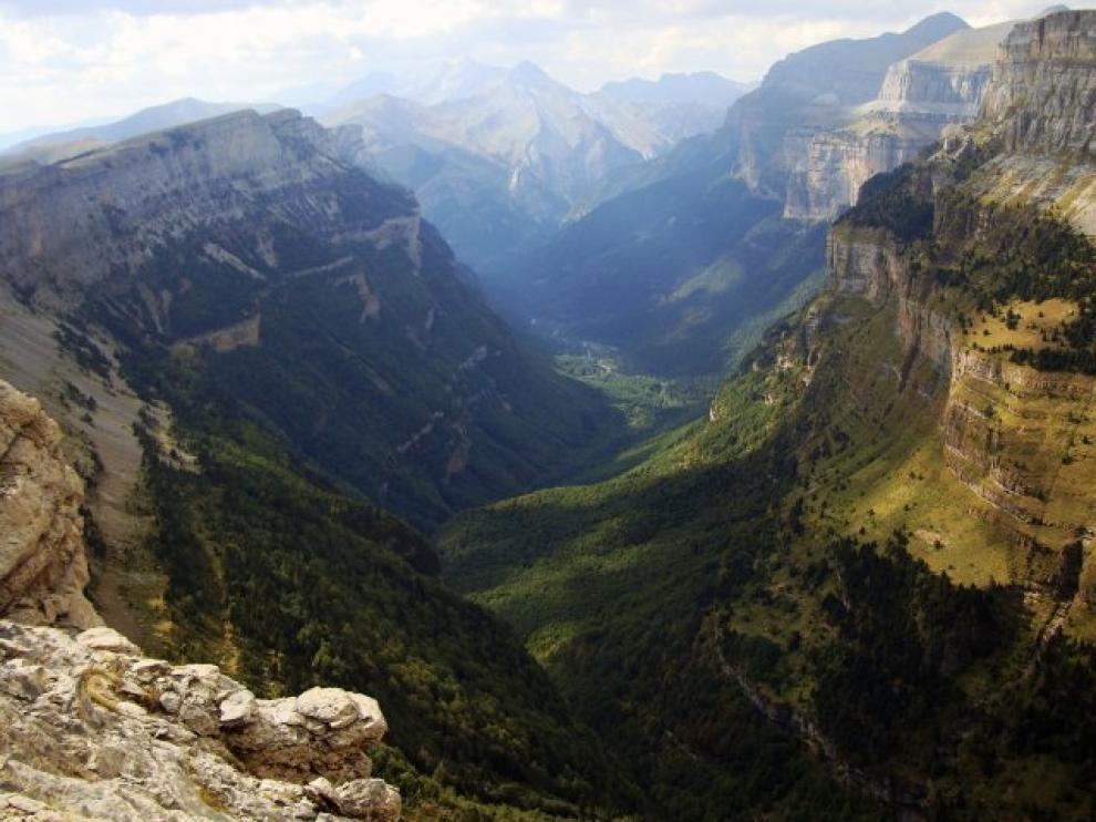Valle de Ordesa, en la provincia de Huesca.