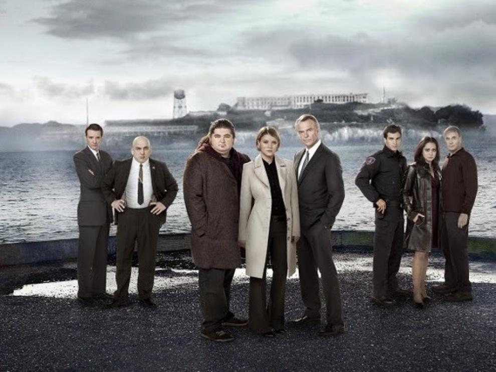 Imagen del reparto de la serie protagonizada por Sam Neil.