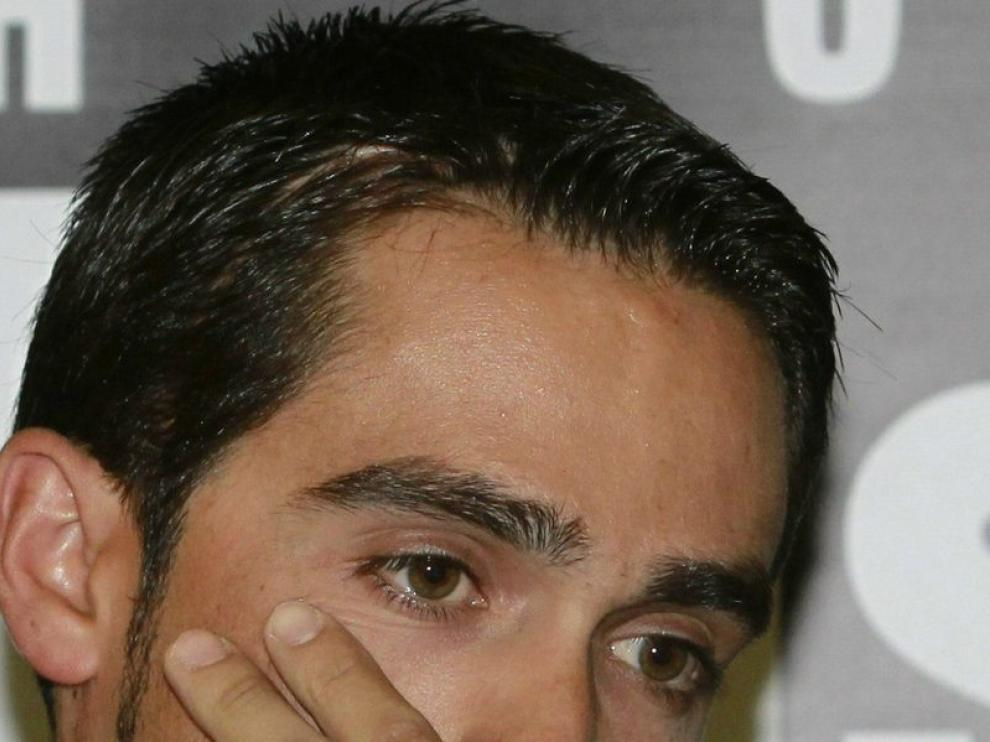 Comparecencia de Alberto Contador