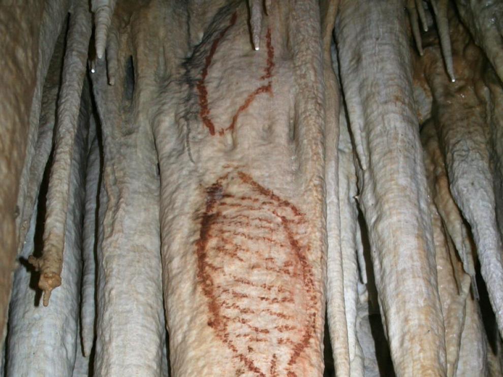 Las pinturas rupestres de esta cueva que representan a focas