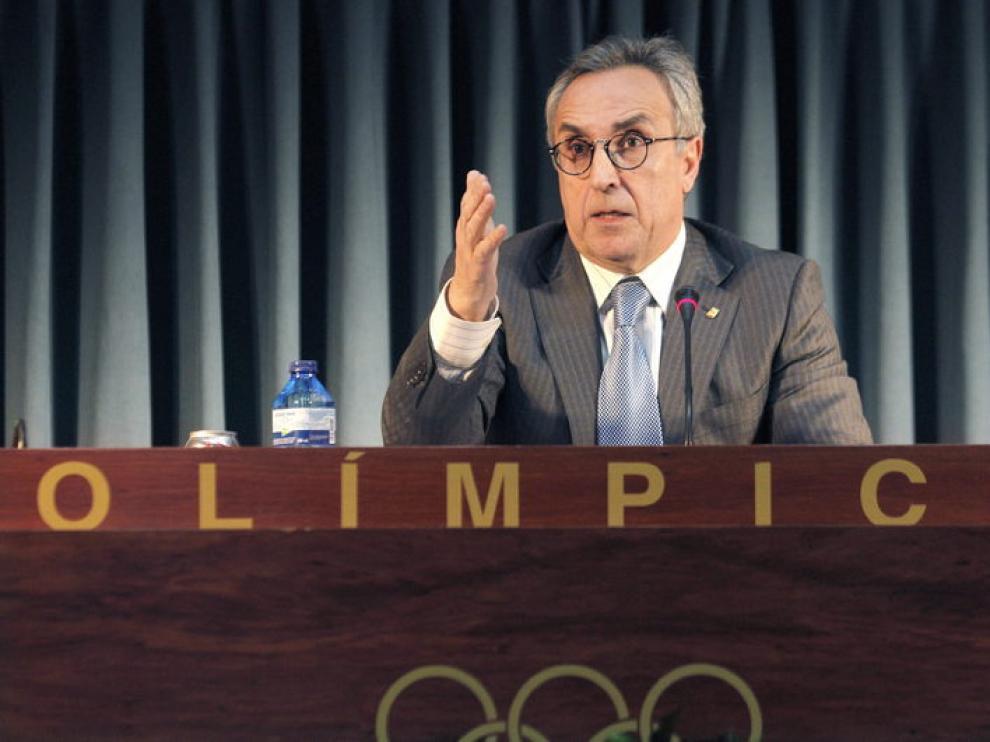 Alejandro Blanco, presidente del Comité Olímpico.