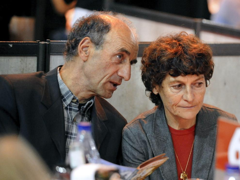 Jeannie Longo y su marido Patrice Ciprelli
